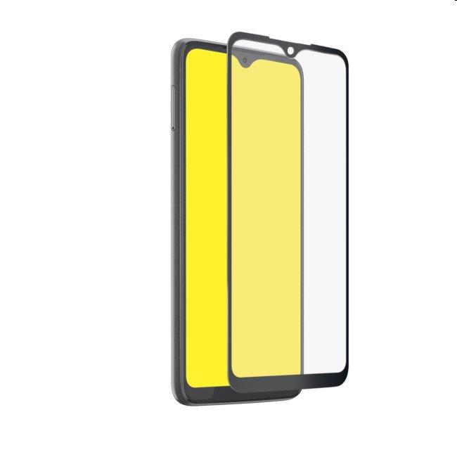 Tvrdené sklo SBS Full Cover pre Motorola Moto G9 Plus, čierne