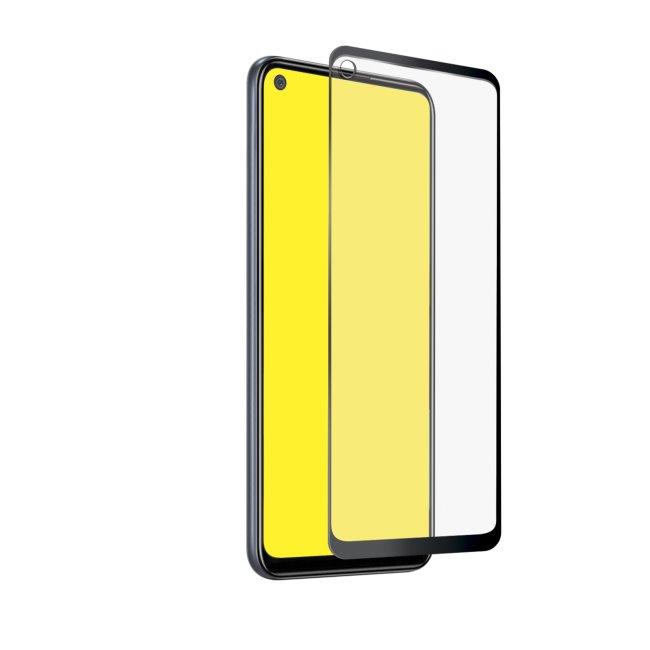Tvrdené sklo SBS Full Cover pre Samsung Galaxy A21s - A217F, black