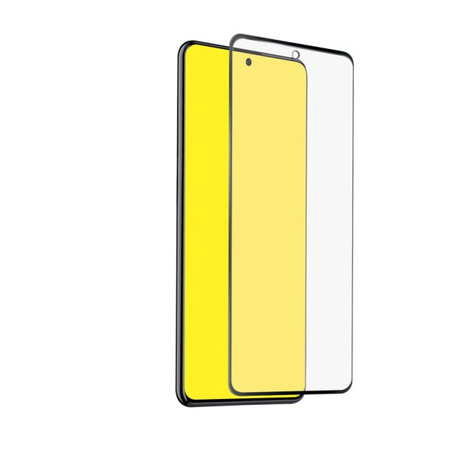Tvrdené sklo SBS Full Cover pre Samsung Galaxy A72 - A725F / A71 - A715F, čierne