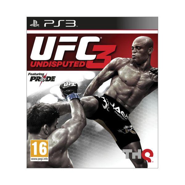 UFC Undisputed 3 [PS3] - BAZÁR (použitý tovar)