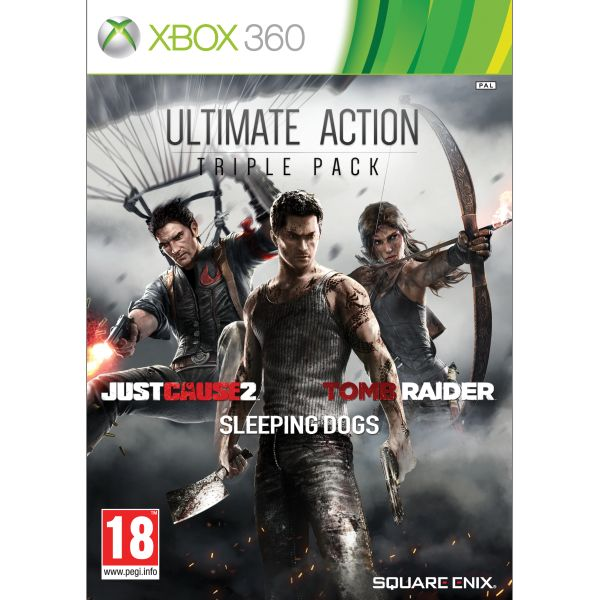 Ultimate Action Triple Pack XBOX 360