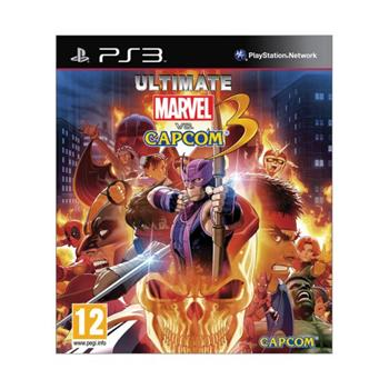 Ultimate Marvel vs. Capcom 3 [PS3] - BAZ�R (pou�it� tovar)