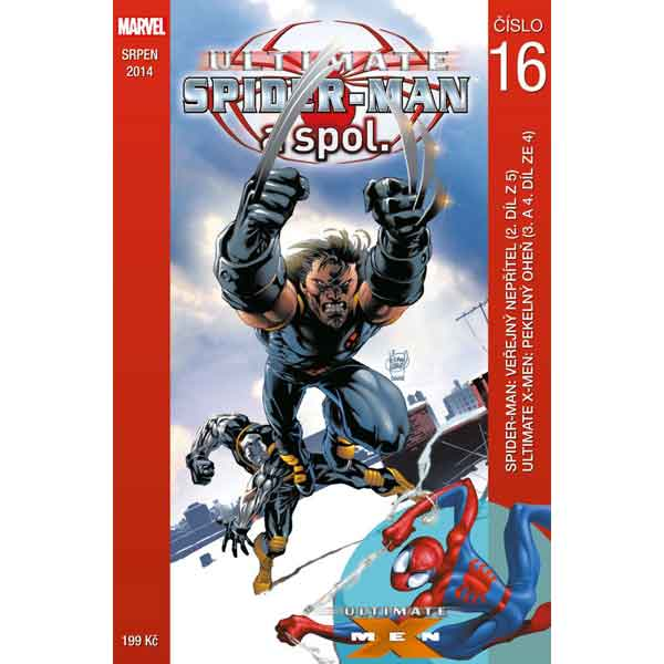 Ultimate Spider-Man a spol. 16 komiks