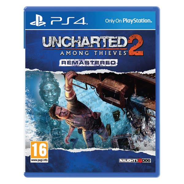 Uncharted 2: Among Thieves (Remastered) [PS4] - BAZÁR (použitý tovar)