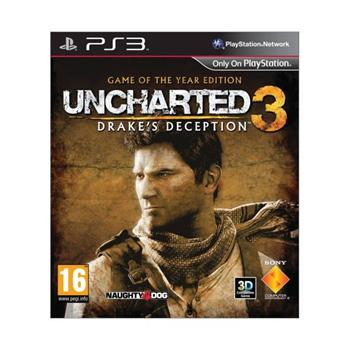 Uncharted 3: Drake's Deception CZ (Game of the Year Edition)-PS3 - BAZÁR (použitý tovar)