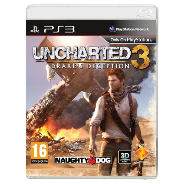 Uncharted 3: Drake's Deception-PS3 - BAZÁR (použitý tovar)