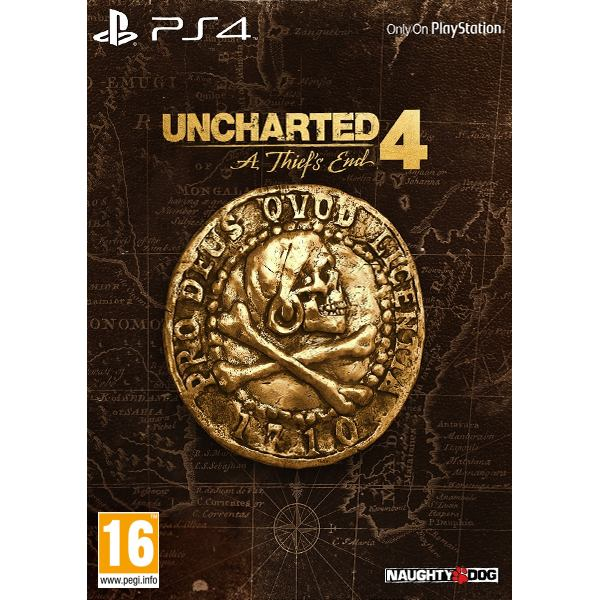 Uncharted 4: A Thief�s End CZ (Libertalia Collector�s Edition)