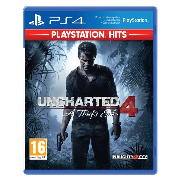 Uncharted 4: A Thief's End CZ