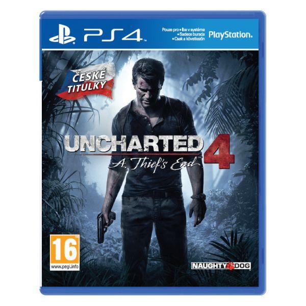 Uncharted 4: A Thief's End CZ [PS4] - BAZÁR (použitý tovar)