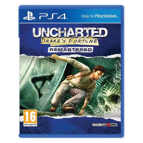 Uncharted: Drake's Fortune (Remastered) [PS4] - BAZÁR (použitý tovar)