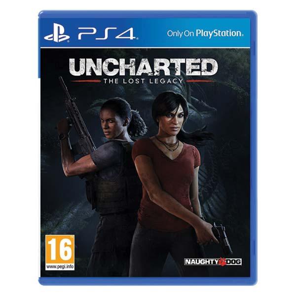 Uncharted: The Lost Legacy [PS4] - BAZÁR (použitý tovar)