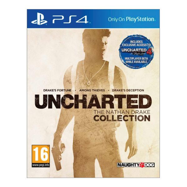Uncharted: The Nathan Drake Collection CZ [PS4] - BAZÁR (použitý tovar)