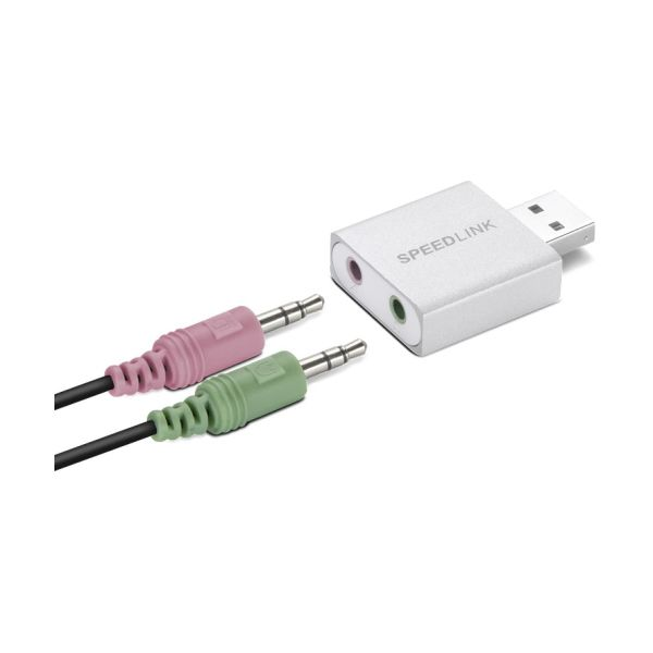 USB zvuková karta Speedlink Vigo Supreme USB Sound Card