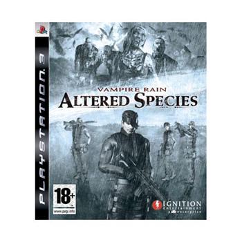 Vampire Rain: Altered Species [PS3] - BAZÁR (použitý tovar)