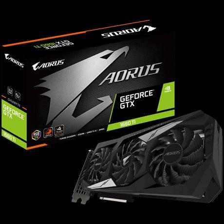 VGA Gigabyte GV-N166TAORUS-6GD, AORUS GeForce® GTX 1660 Ti 6G