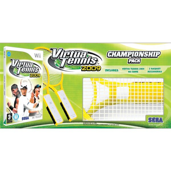 Virtua Tennis 2009 (Championship Pack) Wii
