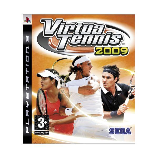 Virtua Tennis 2009 [PS3] - BAZÁR (použitý tovar)