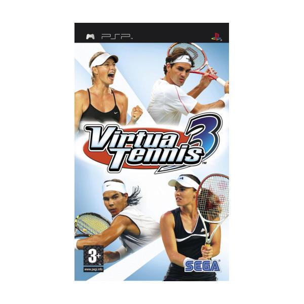 Virtua Tennis 3 [PSP] - BAZÁR (použitý tovar)
