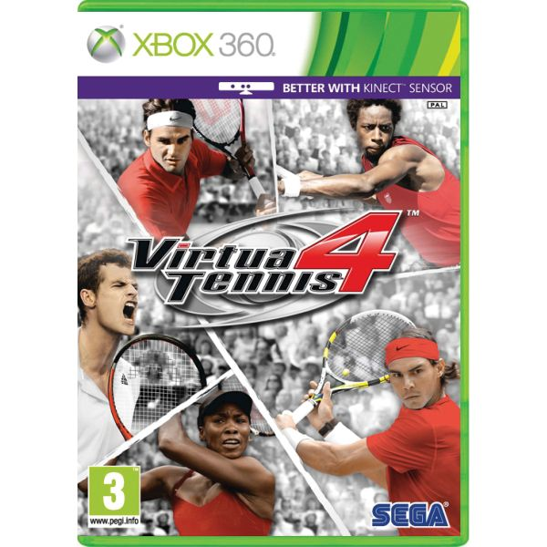 Virtua Tennis 4 [XBOX 360] - BAZÁR (použitý tovar)