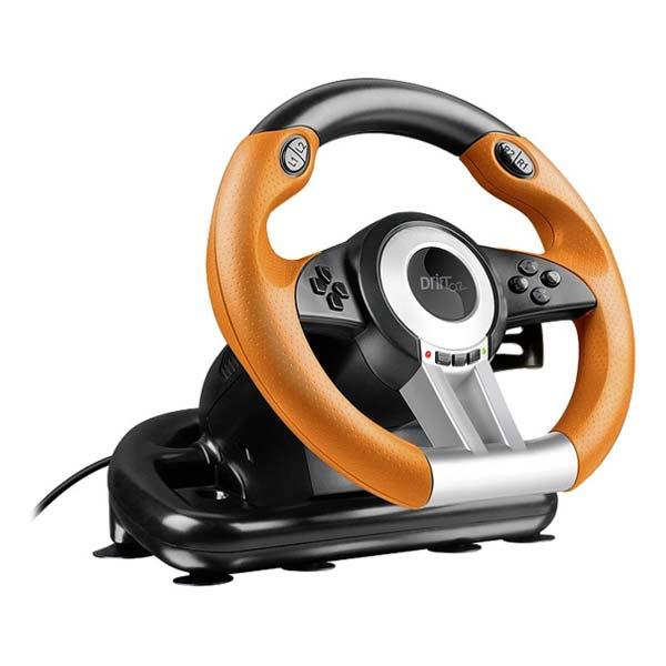 Volant Speedlink Drift O.Z. Racing Wheel pre PS3, èierno-oranžový