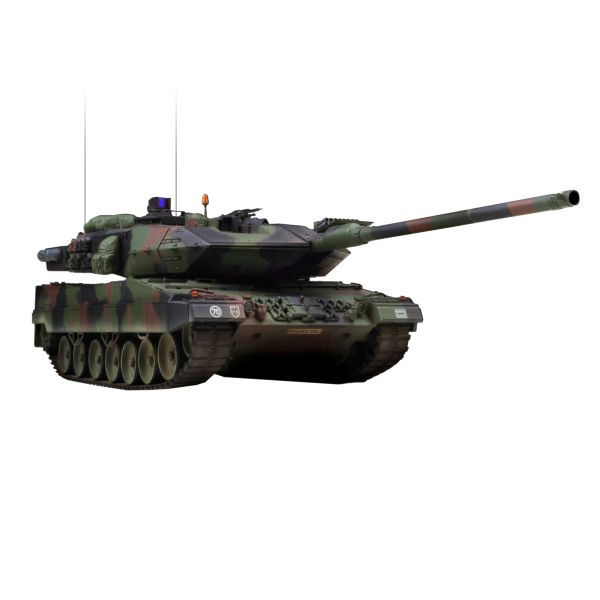 VsTank PRO Airsoft Panzer Kampfwagen Leopard2 A6, NATO 3 color camouflage