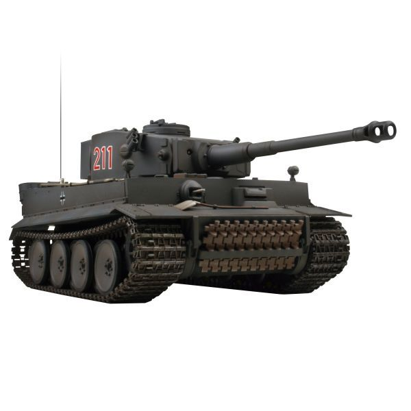 VsTank PRO Airsoft Panzer Kampfwagen VI Tiger I, dark grey (early production)