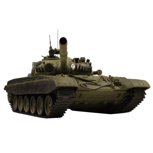 VsTank PRO Airsoft Russian Army Tank T-72 M1, olive green