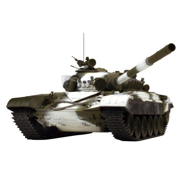 VsTank PRO InfraRed Russian Army Tank T-72 M1, winter camouflage
