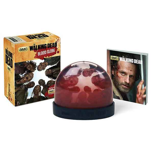 Walking Dead Blood Globe (Miniature Editions) RP460700