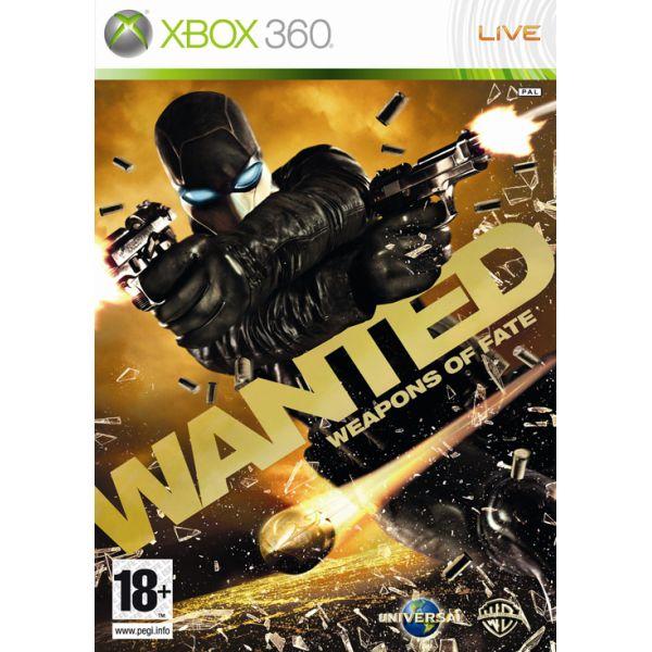 Wanted: Weapons of Fate- XBOX 360- BAZÁR (použitý tovar)