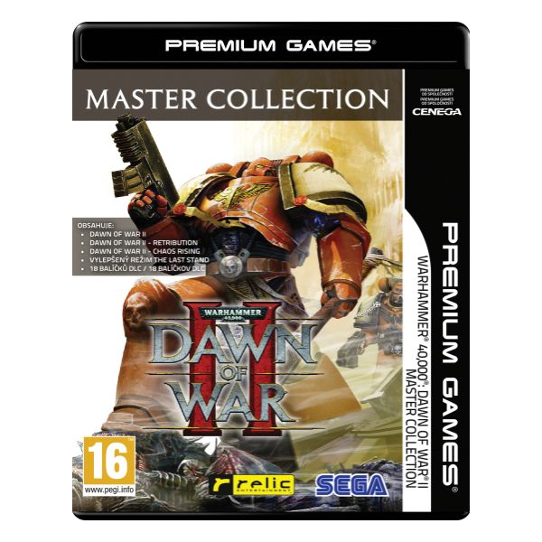 Warhammer 40,000 Dawn of War 2 CZ (Master Collection)