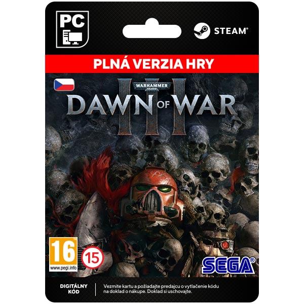 Warhammer 40,000: Dawn of War 3 CZ [Steam]