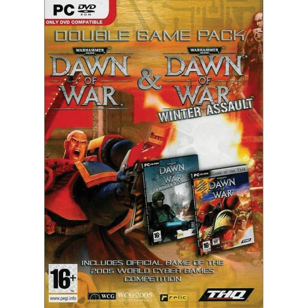 WarHammer 40,000: Dawn of War + WarHammer 40,000 Dawn of War: Winter Assault (Double Game Pack)