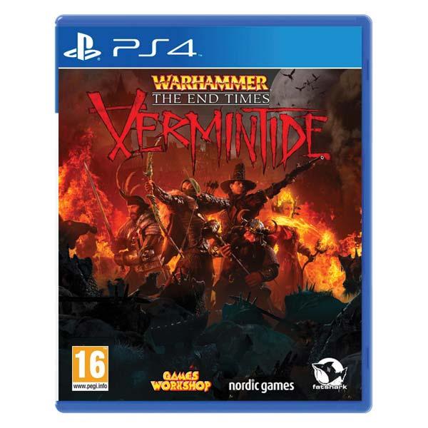 Warhammer The End Times: Vermintide [PS4] - BAZÁR (použitý tovar)