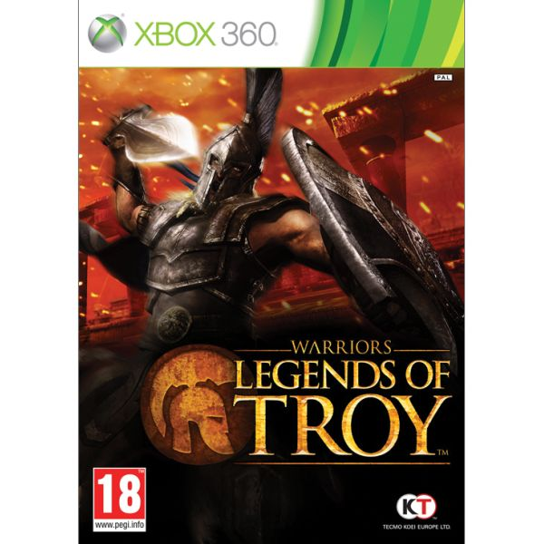 Warriors: Legends of Troy XBOX 360