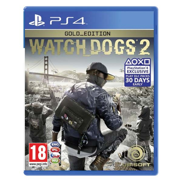 Watch_Dogs 2 CZ (Gold Edition) PS4