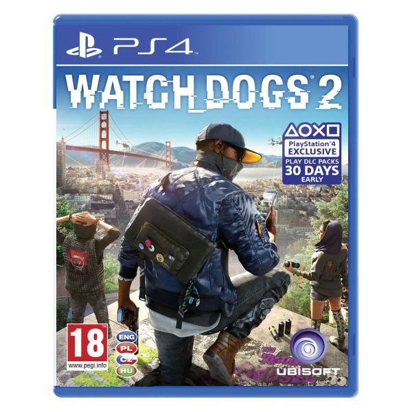 Watch_Dogs 2 CZ [PS4] - BAZÁR (použitý tovar)