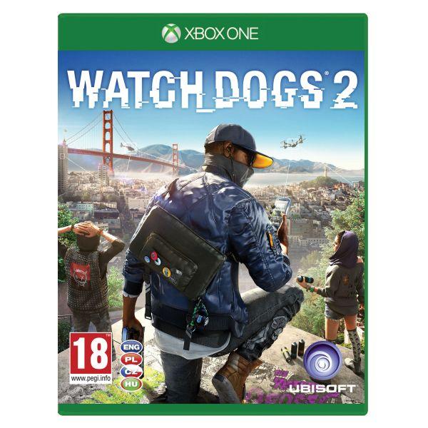 Watch_Dogs 2 CZ [XBOX ONE] - BAZÁR (použitý tovar)