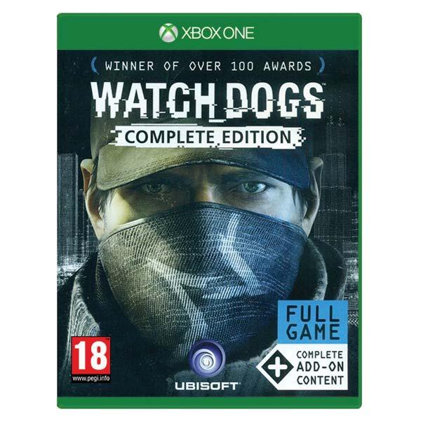Watch_Dogs CZ (Complete Edition) [XBOX ONE] - BAZÁR (použitý tovar)