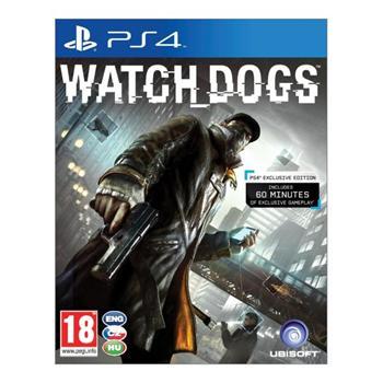Watch_Dogs CZ [PS4] - BAZÁR (použitý tovar)