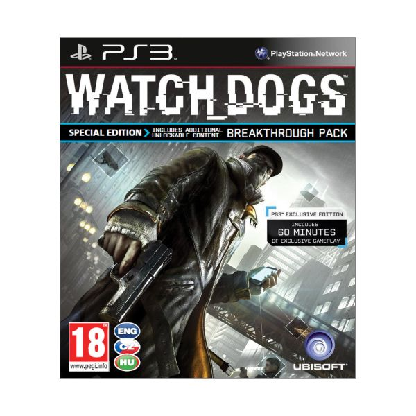Watch_Dogs CZ (Special Edition)