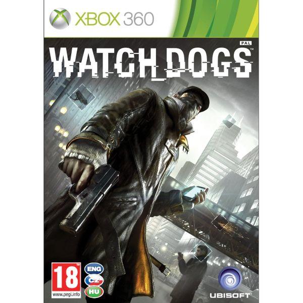 Watch_Dogs CZ [XBOX 360] - BAZÁR (použitý tovar)