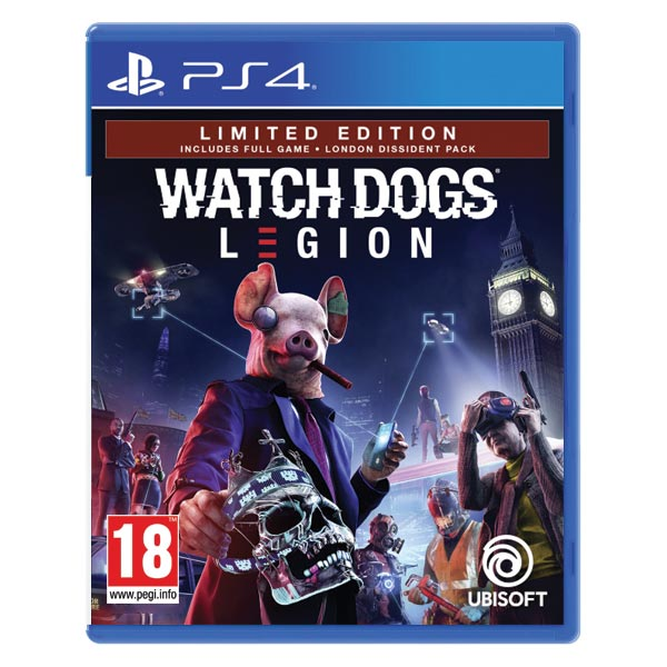 Watch Dogs: Legion (Limited Edition) PS4