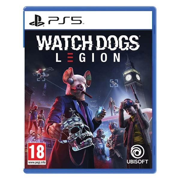 Watch Dogs: Legion [PS5] - BAZÁR (použitý tovar)