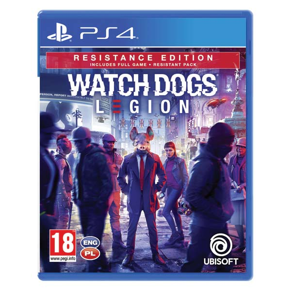 Watch Dogs: Legion (Resistance Edition) PS4