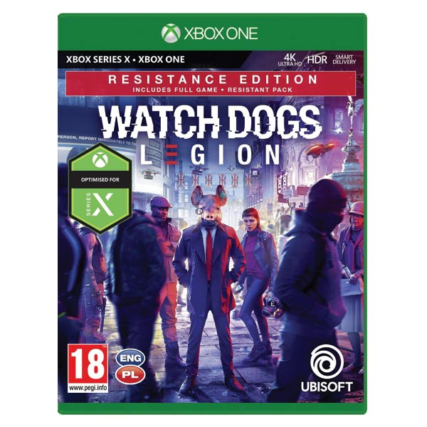 Watch Dogs: Legion (Resistance Edition) XBOX ONE