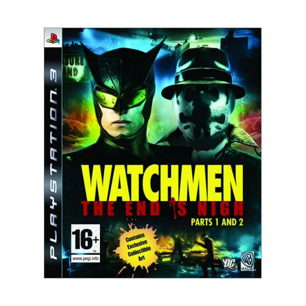 Watchmen: The End is Nigh (Parts 1 and 2)