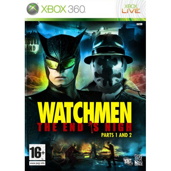 Watchmen: The End is Nigh (Parts 1 and 2) XBOX 360