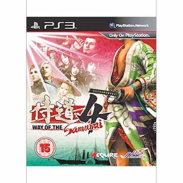 Way of the Samurai 4 [PS3] - BAZÁR (použitý tovar)