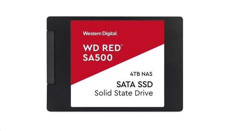 """WD 4TB Red™ SSD 2,5"""" SATA III, 560MB/530MB WDS400T1R0A"""